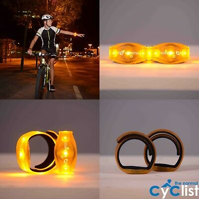 USEEME Bike Bicycle Indicator Lights Direction LED Turn Signal MOTION ACTIVATED