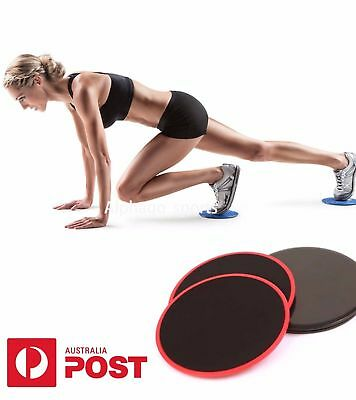Fitness Slide Gliding Discs Coordination Ability Fitness Exercise Sliders #O