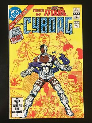 Tales of New Teen Titans 1 DC 06/82 Origin of Cyborg E3