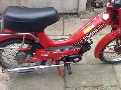Tomos moped barn find  1988 origanel condition