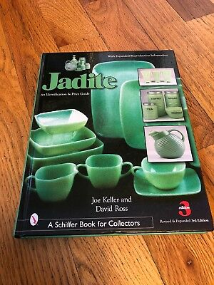 JADITE Identification Glass Price Guide Book  3rd Edition Hardcover