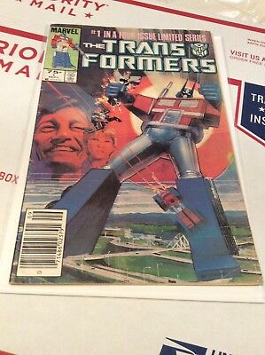 The Transformers #1 (Sep 1984, Marvel) 1st Print. Newsstand