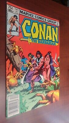 Marvel Comics-Conan The Barbarian Vol 1 #141 Dec 1982