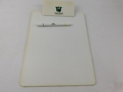 Vintage Land Rover University Clipboard and Pen