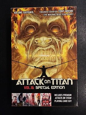 Attack On Titan Volume 16, Special Edition