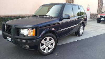 2000 Land Rover Range Rover HSE 2000 Land Rover Range Rover 4.6 HSE 4WD Looks and Runs Very Good, Navigation