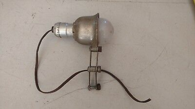 "Vintage Rockwell Delta Milwaukee 14"" Drill Press Scroll Band Saw Light Lamp"