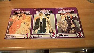 Ouran High School Vol.1, 2 and 3