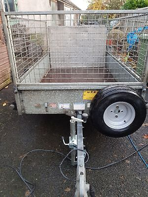 6x4 ifor williams cage trailer