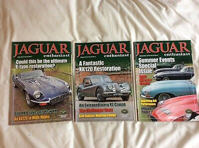 Jaguar Enthusiast magazines July-September 2010