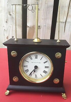 Jerome & Co West Germany Horovolar Flying Pendulum Clock For Spares Or Repair