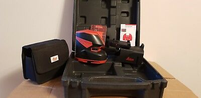 Leica Lino L2+ Cross Line Laser Level plus Target,Mount and Case