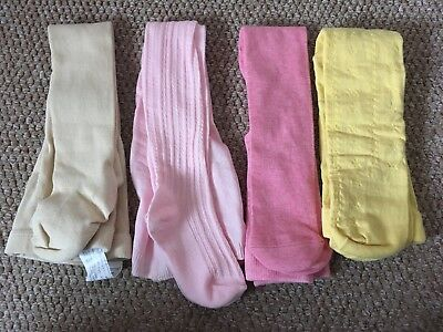 Girls Bundle Of New Tights Zara, M&S, Next - 18-24m