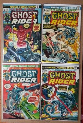 Marvel - Ghost Rider lot of 4 comics - No.2, 3, 4, 5 FN