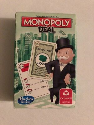 Rare Monopoly Deal Playing Card Game