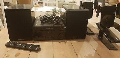 CAMBRIDGE AUDIO ONE Mini Hifi System with Speakers, cables and brackets