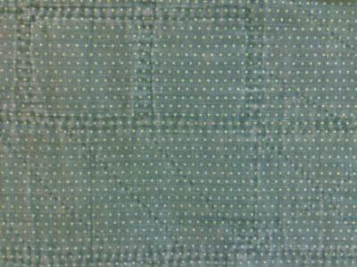 ~Back In Time Textiles~Antique Primitive 1860 over dyed green calico Fabric~