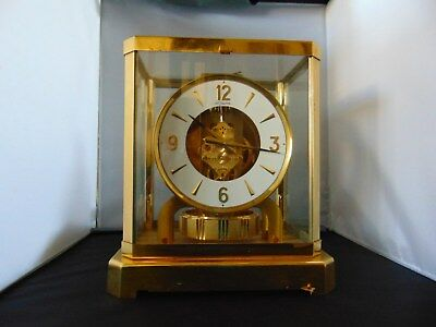 LeCoultre Atmos Clock A Real Beauty 528 Serial # 322946