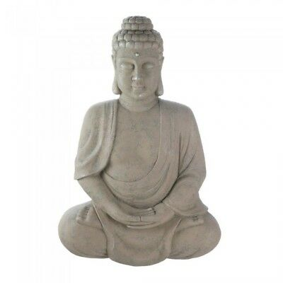 Peaceful Sitting Mediating Buddha Statue Wall Decor  by Accent Plus