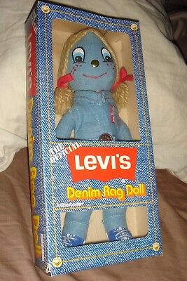 Vintage 1970's Levis Denim Rag Doll Knickerbocker Style # 3608    ** MINT **