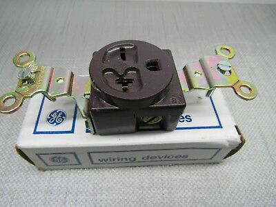 General Electric 4182-1 Single Receptacle 20A-250V 2P 3W