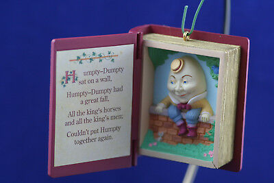 Hallmark Keepsake  1993 Mother Goose Book #1  Ornament