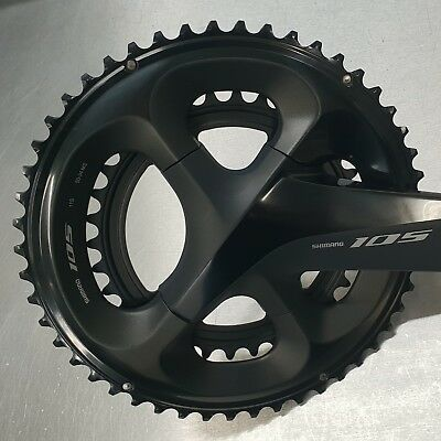 Shimano 105 R7000 50/34T Chainring Set - NEW
