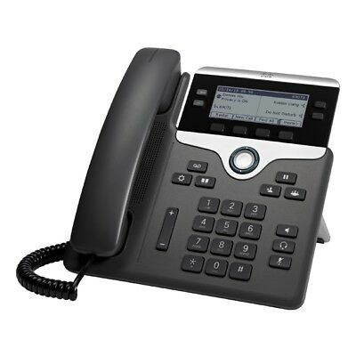 Cisco - Hw Unified Comm Cp-7841-K9= Ip Phone 7841 Charcoal Standard
