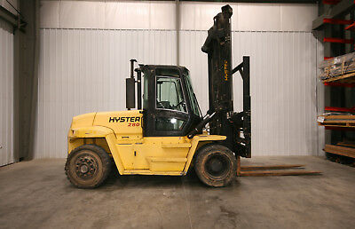 13419 Hyster 26,800 lbs. Capacity Forklift, Model H280HD