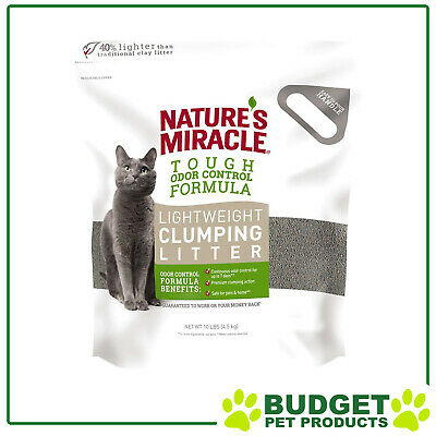 Natures Miracles Lightweight Clumping  Clay Litter 4.5Kg