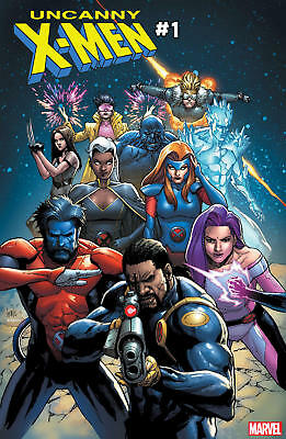 Uncanny X-men #1 (2018) regular Yu cover unread nm 9.4 + ships 11/14