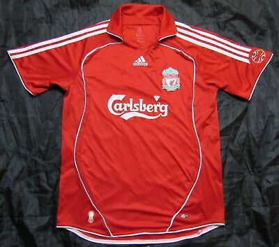 The Reds FC LIVERPOOL home jersey shirt ADIDAS 2006-2008 trikot adult SIZE L