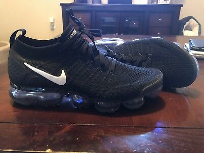 Nike Air VaporMax Flynit Men's Size 8 Black/White