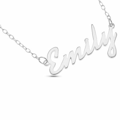 267ab6e5a9c78 STERLING SILVER DOG Tag Personalised Plate Engrave Any Name Bar ...