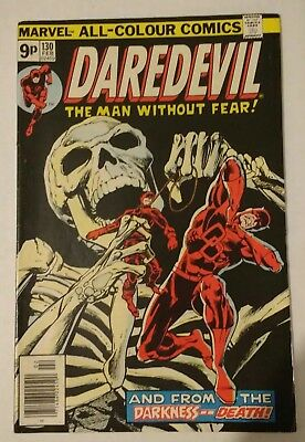Daredevil #130 - pence copy - classic issue before first Bullseye
