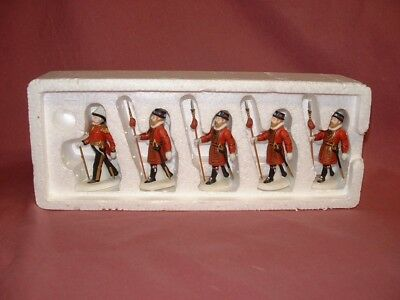 """Vintage Dept 56 Dickens Village """"Yeomen Of The Guard"""" #58397 Heritage Collection"""