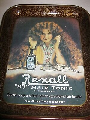 Collectible Vintage Rexall Serving Tray