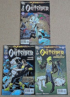 Flashpoint The Outsider 1 2 3 Complete Set Series Run Lot 1-3