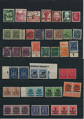 Germany, Deutsches Reich, Nazi, liquidation collection, stamps, Lot,used (KA 7)