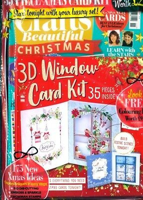 Crafts Beautiful Magazine #325 November 2018 ~ In Sealed Pack With Free Gift ~