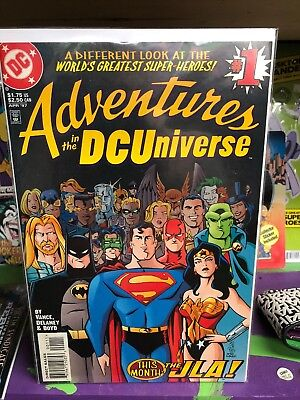 Adventures In The Dc Universe # 1 * Justice League