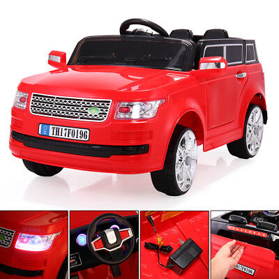 12V Kids Ride On Car W/2.4G Remote Control Electric Battery Power Truck Red