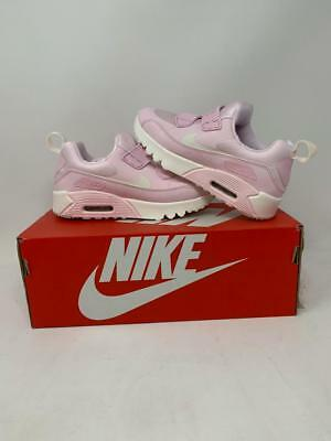 Nike Air Max Tiny 90 Ps Pink 881926 600 Athletic Sneakers Youth Size 12 New Wb