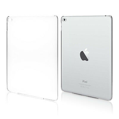 Crystal Clear Hard PC Plastic Back Case Cover Slim Shell For Apple iPad Air HU