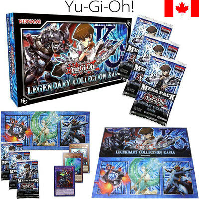 YuGiOh Card Legendary Collection Kaiba Box Pack Blue-Eyes White Dragon Xmas Gift
