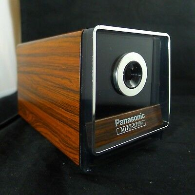 Panasonic KP-120 Electric Pencil Sharpener Auto Stop Japan Vintage Tested. MINT