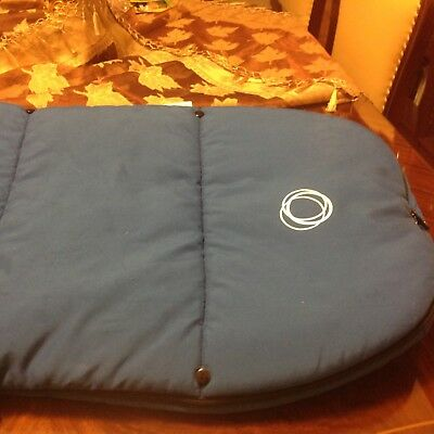 Bugaboo footmuff royal blue great condition warm and cozy for winter