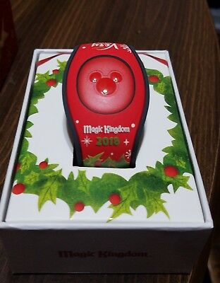 Disney Parks Mickey's Very Merry Christmas Party 2018 Magic Band LE NEW