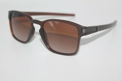 77a905f04e OAKLEY LATCH SQ Sunglasses OO9353-09 Matte Rootbeer Frame W  Dark Brown Lens