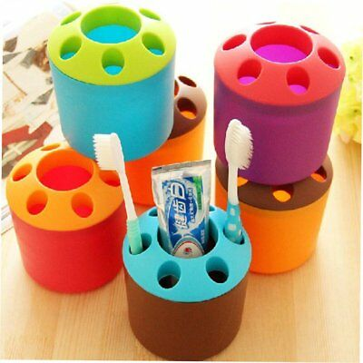Creative Porous Toothpaste Toothbrush Holder Multi-function BF